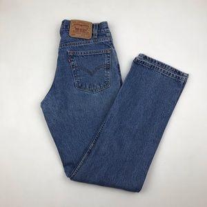 Vintage Levi's 505 High Waist wedgie fit Jeans